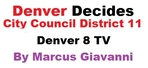 City Council Candidates District 11 in Denver