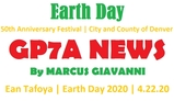 2020 Earth Day, 50th Anniversary