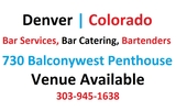 Election Venues Denver, Bartenders, Catering, Services, Colorado