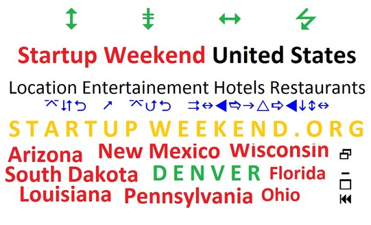 Startup Weekend United States Locations Hotels Restaurants