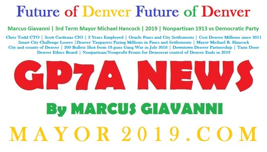 GP7A News: Future of Denver Future of Denver Mayor Michael Hancock Future