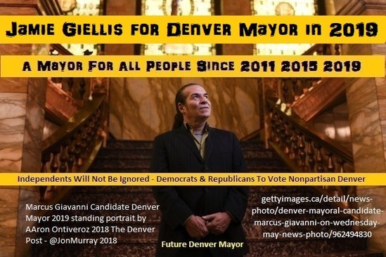 Jamie Giellis Mayor of Denver 2019