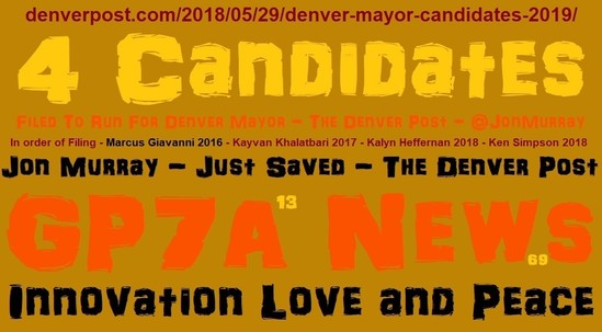 Marcus Giavanni | Denver Mayor 2019 | Denver, Colorado