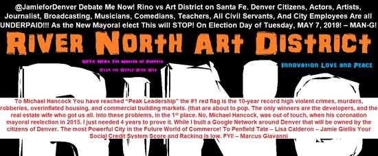 Rino Art (RiNo) District Denver, CO 80216 by Marcus Giavanni