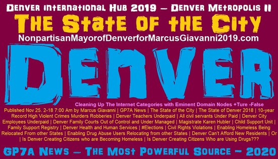 The State of The City - Michael Hancock Mayor Denver 2019