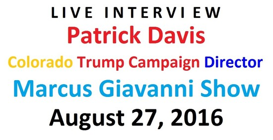Trump Campaign talking about the next President Marcus Giavanni Show