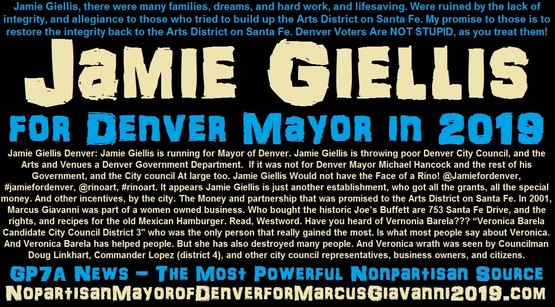 2019 Mayor of Denver Jamie Giellis