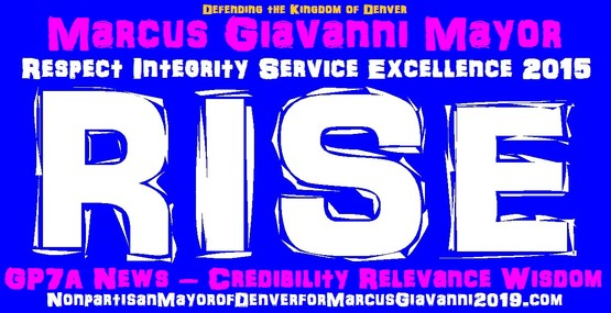 Respect Integrity Service Excellence 2015 Marcus Giavanni Mayor