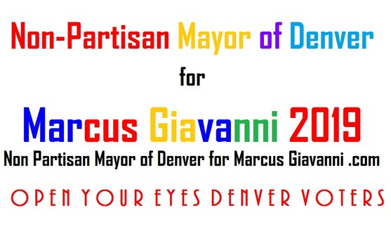 2019 Denver Mayoral Candidate Marcus Giavanni: Frontrunner Mayoral candidate Marcus Giavanni, will launch Denver International Hub 2019 with Google+ Authority.